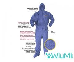 PROTECTIVE SUIT AGAINST CHEMICALS AND PATHOGENS - Image 1/2