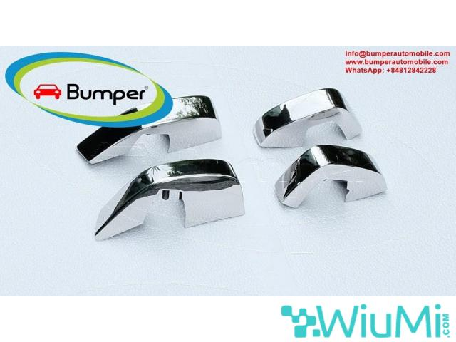 Stainless steel bumpers for Datsun 240Z 260Z 280Z from 1969 to 1978  with overriders - 5/5