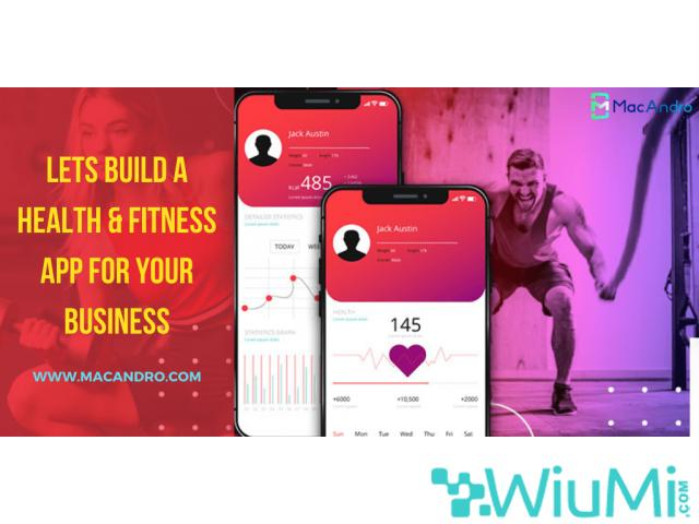 Feature Rich Mobile App to Attract Health & Fitness Enthusiasist - 1/1