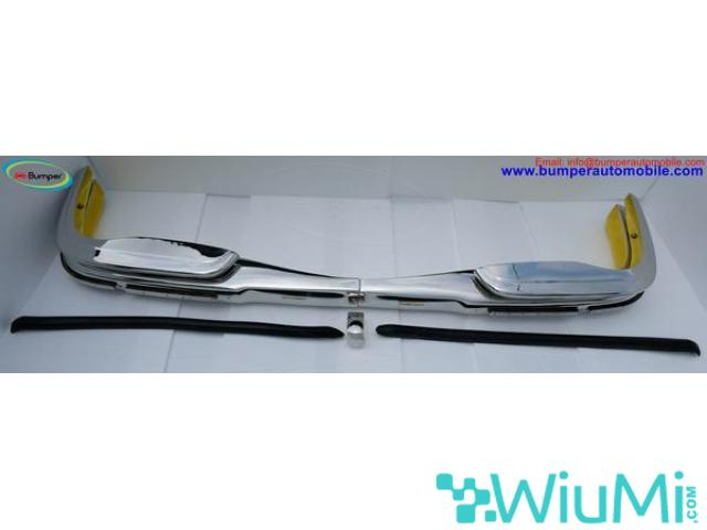 Mercedes W109 bumper (1965-1973) by stainless steel - 1/5