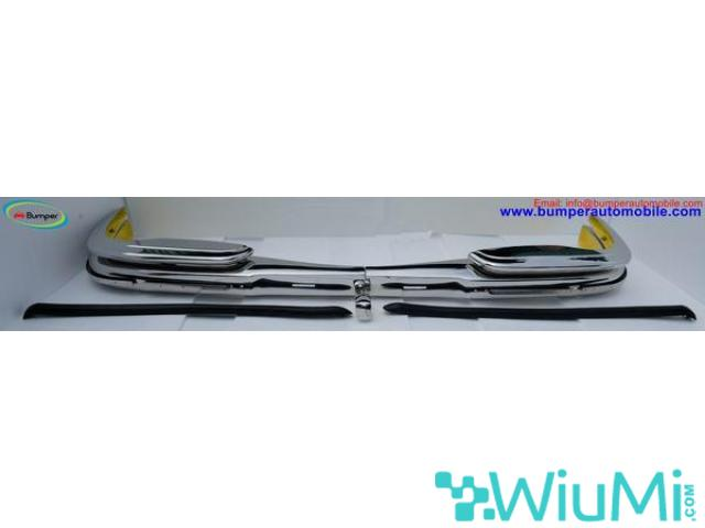 Mercedes W109 bumper (1965-1973) by stainless steel - 2/5