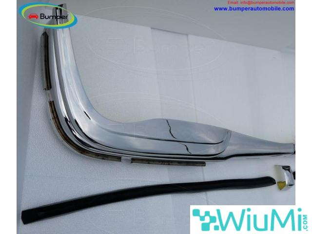 Mercedes W109 bumper (1965-1973) by stainless steel - 3/5