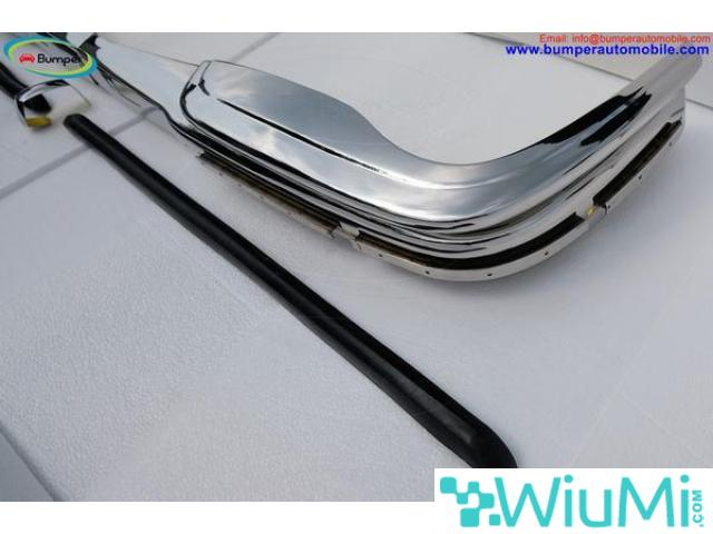 Mercedes W109 bumper (1965-1973) by stainless steel - 4/5