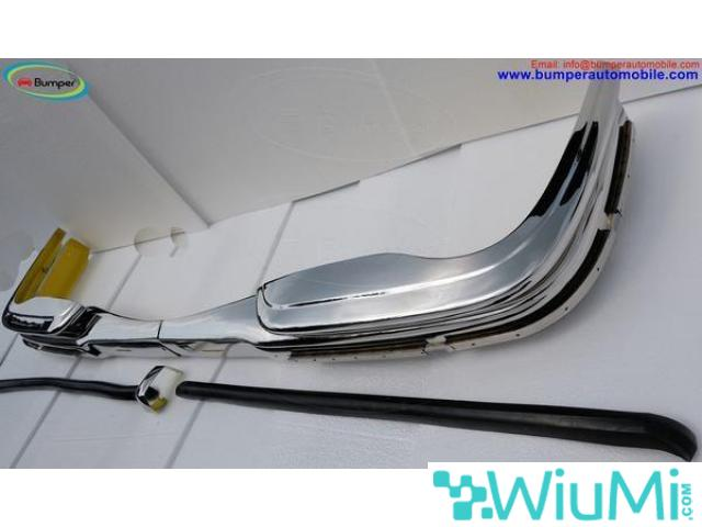 Mercedes W109 bumper (1965-1973) by stainless steel - 5/5