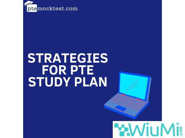 Strategies For PTE Study Plan - 1/1