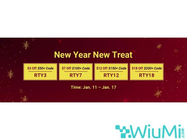 Gain RSorder New Year Treat Up to $18 Discount for 07 Runescape Gold Now - 1/1