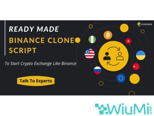 Exclusive Features of Binance Clone Script Software - 1/1