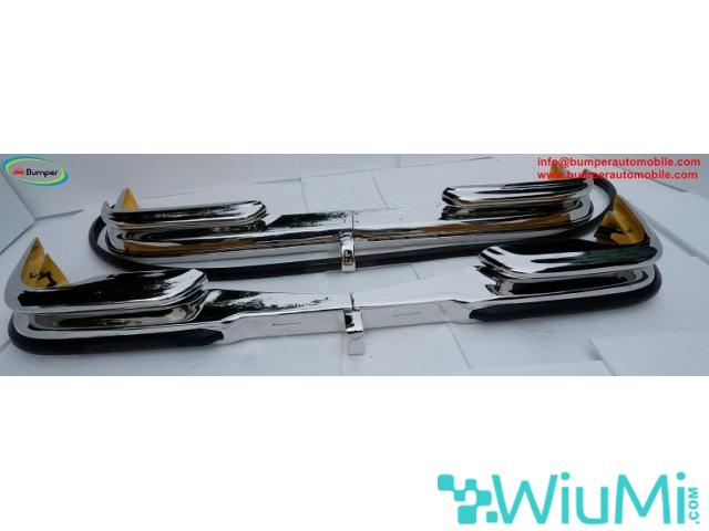Front and Rear bumper Mercedes W111 3.5 coupe - 1/4