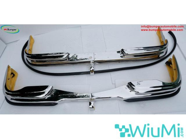 Front and Rear bumper Mercedes W111 3.5 coupe - 2/4