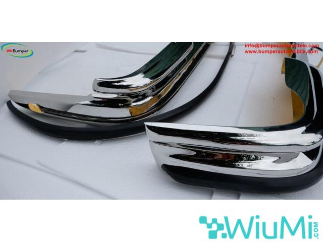 Front and Rear bumper Mercedes W111 3.5 coupe - 3/4