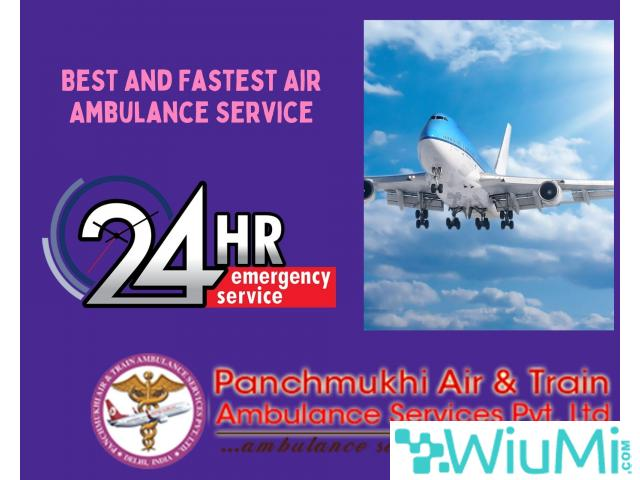 Avail Air Ambulance Service in Brahmapur by Panchmukhi with Specialist Medical Support Team - 1/1