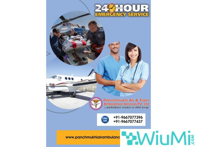Get the Country Safest and Fastest Air Ambulance Service in Dehradun by Panchmukhi - 1/1