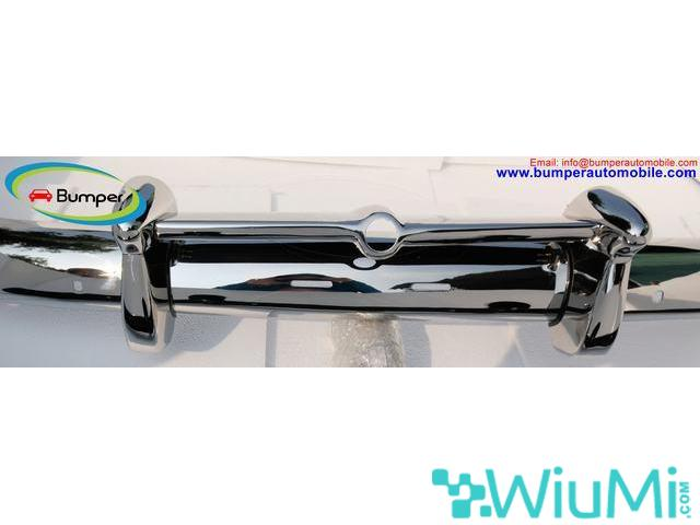 Volvo PV 444 (1947-1958) bumpers - 3/4
