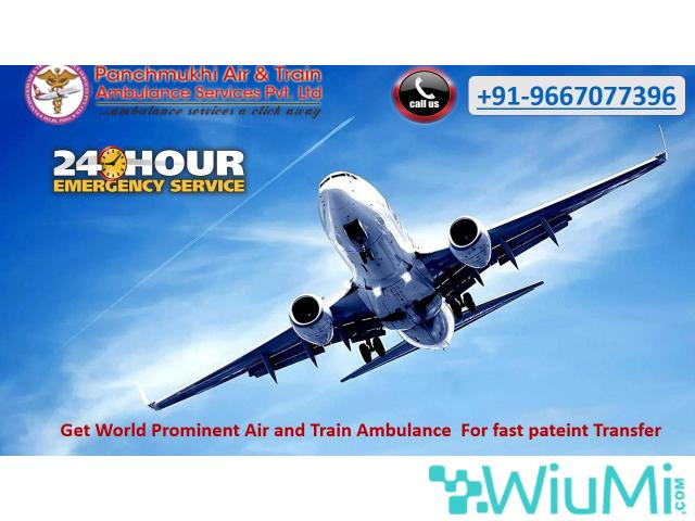 Obtain Splendid Air Ambulance Service in Gwalior by Panchmukhi with Top-notch Facility - 1/1