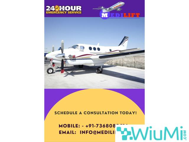 Hire Highly Develop Air Ambulance Service in Chennai by Medilift at Low Price - 1/1