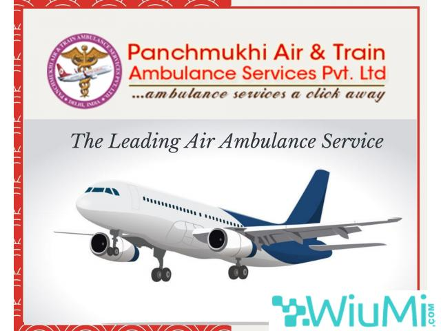 Quickly Get Top Grade Air Ambulance Service in Jaisalmer by Panchmukhi with Advanced Support - 1/1