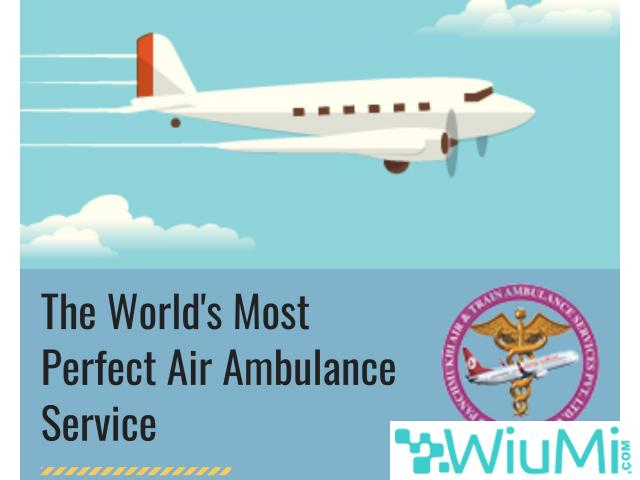 Quickly Use the High-Class Life Saver Air Ambulance Service in Jodhpur with Vital Care - 1/1