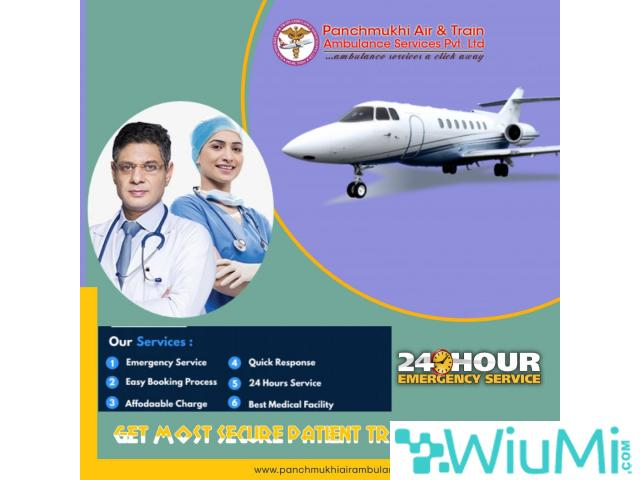 Get the Exceptional Air Ambulance Service in Kochi by Panchmukhi with First Rated Medical Support - 1/1