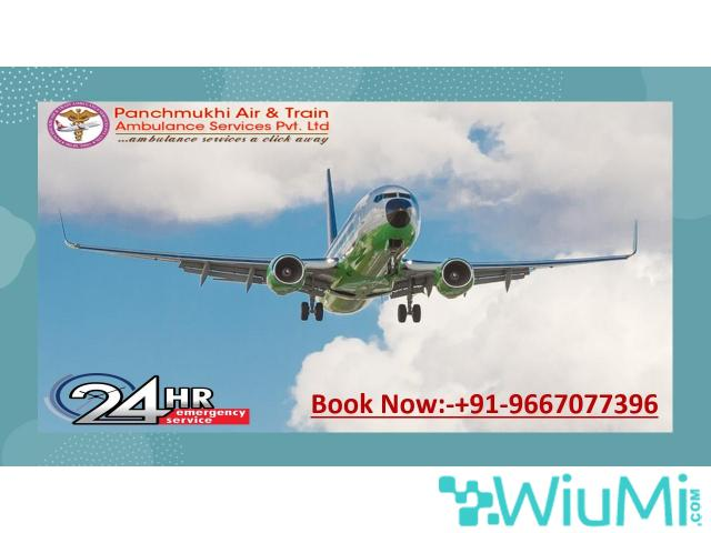 Call for Remarkable Air Ambulance Service in Ludhiana by Panchmukhi with First Rated Medical Support - 1/1