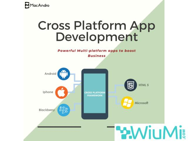 Make Your Business Available in All Platforms with our Cross Platform App - 1/1