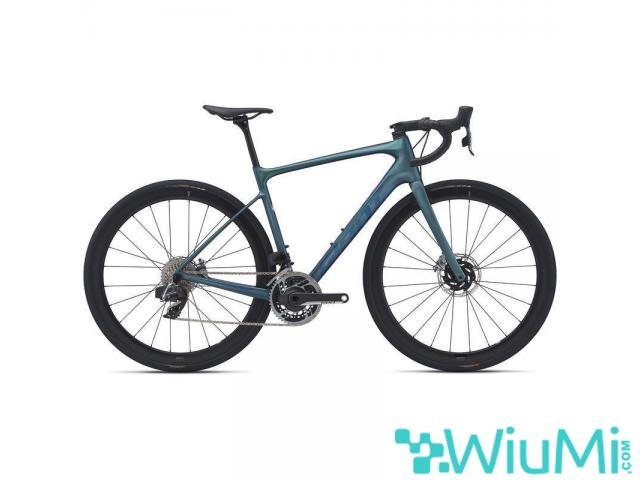 GIANT DEFY ADVANCED PRO 0 CHRYSOCOLLA ROAD BIKE 2021 CENTRACYCLES) - 1/1