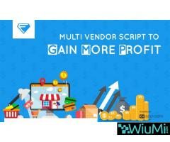 40% Offer Multi Vendor Script to Gain More Profit