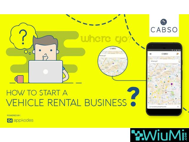 40% July Offer Vehicle Rental Business for Android & IOS - 1/1