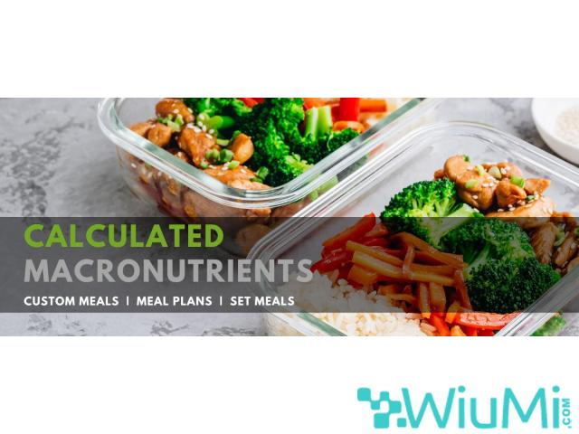 Order Fully customized meals online - 1/1