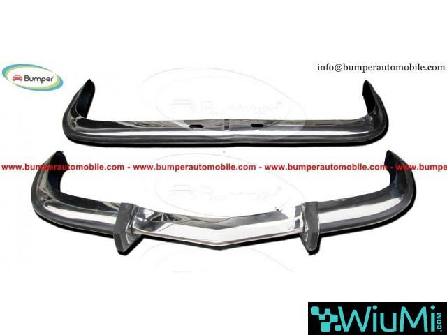 BMW 2000 CS Sedan year (1965-1969) bumper - 1/4