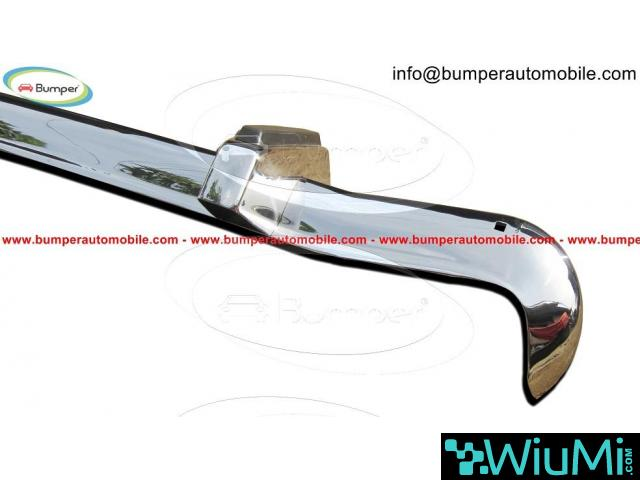 Ford Cortina MK2 bumper year (1966-1970) stainless steel - 3/4
