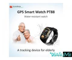 Smart Senior Tracking Device Watch PT88 with Advance Technology