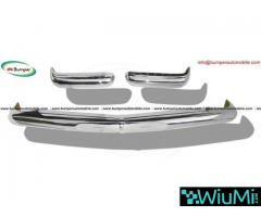 Mercedes Pagode W113 bumpers (1963 -1971) stainless steel
