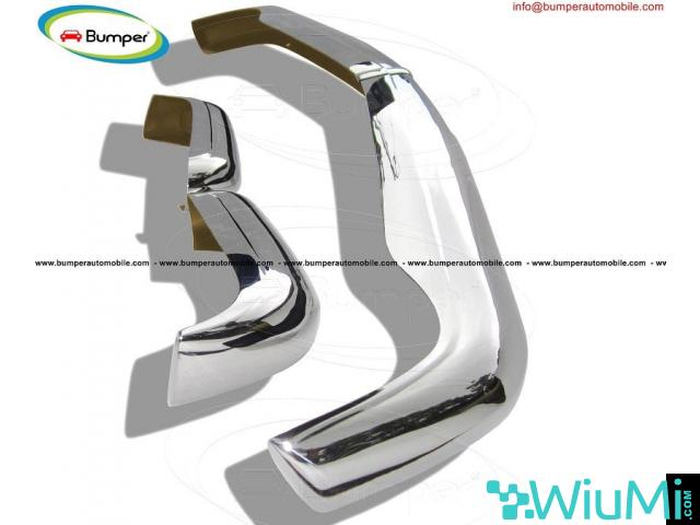 Mercedes Pagode W113 bumpers (1963 -1971) stainless steel - 2/3