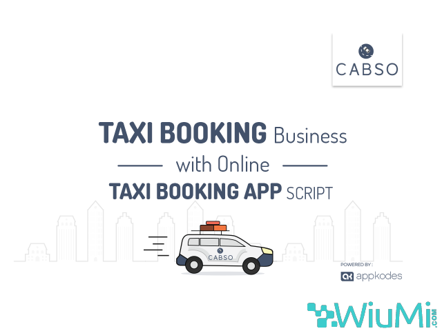 On Demand Online Taxi Booking App With Ultimate Features - 1/1