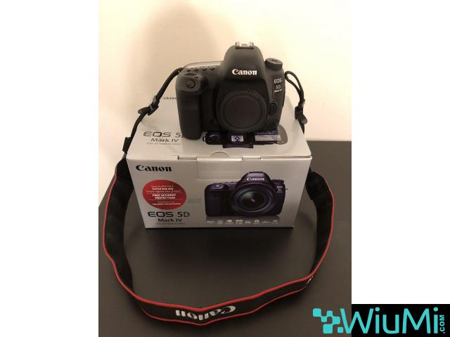 Canon EOS 5D Mark IV Digital SLR Camera - 1/1