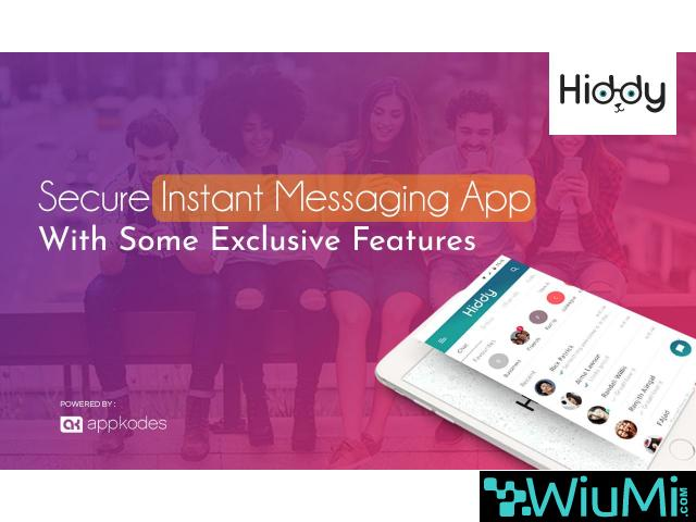 Instant Messaging App With All Essential Features - 1/1