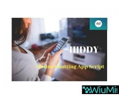 Hiddy-Instant Chat App With Native Ios& Android