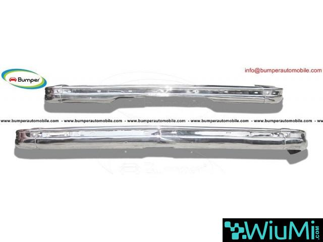BMW E21 bumper kit new (1975 - 1983) by stainless steel - 2/4