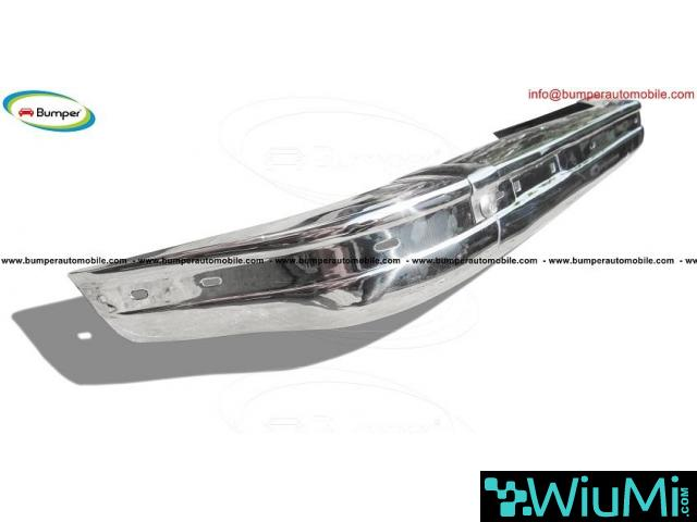 BMW E21 bumper kit new (1975 - 1983) by stainless steel - 3/4