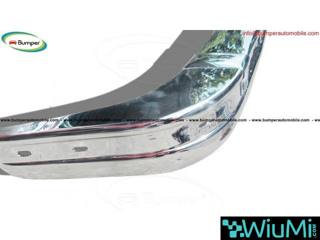 BMW E21 bumper kit new (1975 - 1983) by stainless steel - 4/4