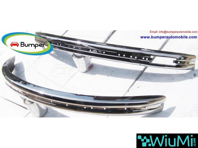 Volkswagen Beetle bumpers 1975 and onwards by stainless steel - 1/4