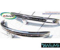 Volkswagen Beetle bumpers 1975 and onwards by stainless steel