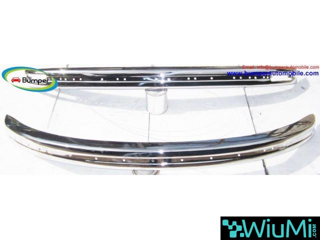 Volkswagen Beetle bumpers 1975 and onwards by stainless steel - 4/4