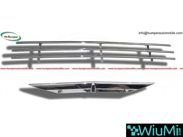Saab 92 - 92B Grille bumper  (1949-1956) stainless steel - 1/3