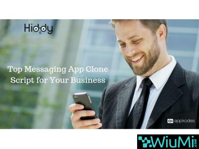 Top Messaging App Clone Script for Your Business - 1/1