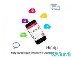 All Purpose Chat App like Whatsapp - Hiddy