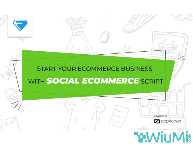 Advanced Social Ecommerce Script Now Available At 50% Off - 1/1