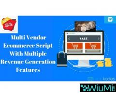 50% Off On Multi Vendor Ecommerce Script With Multiple Revenue Generation Features