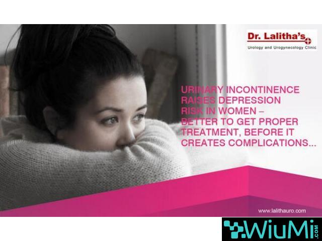 Urinary Incontinence In Women Hyderabad | Urology Specialist In Hyderabad - 2/5