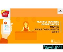 Multiple Business Opportunities From a Single Online Rental Script Now At 50% Off
